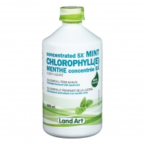 Land Art Chlorophylle 5x menthe  500 ml