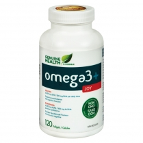Genuine Health Omega3 PLUS Joy  120 gélules