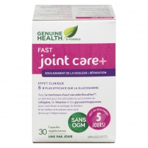 Genuine Health fast joint care plus  30  capsules végétales