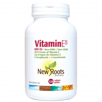New Roots Herbal Vitamine E8   120 gélules