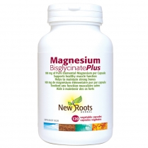 New Roots Herbal Magnesium bisglycinate plus 150 mg  120 capsules