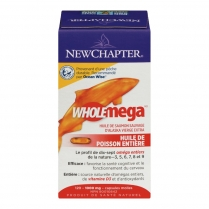New Chapter Wholemega Whole Fish Oil  120 capsules