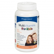 Progressive MultiVitamins for kids  120 comprimés à croquer